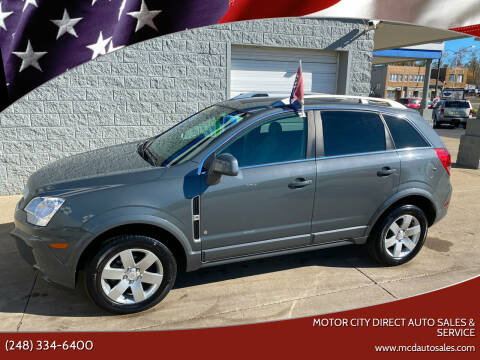 2008 Saturn Vue for sale at Motor City Direct Auto Sales & Service in Pontiac MI
