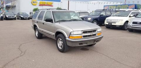 2001 Chevrolet Blazer for sale at EXPRESS AUTO GROUP in Phoenix AZ