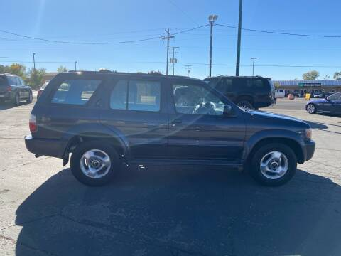 1998 Infiniti QX4 for sale at University Auto Sales in Cedar City UT