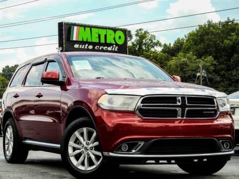 2015 Dodge Durango for sale at Metro Auto Credit in Smyrna GA