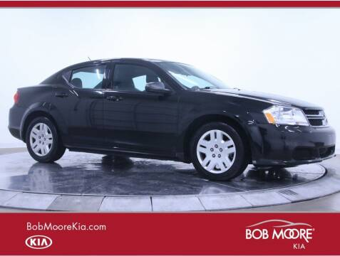 2012 Dodge Avenger for sale at Bob Moore Kia in Oklahoma City OK
