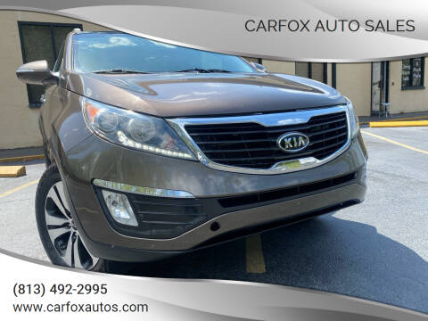2011 Kia Sportage for sale at Carfox Auto Sales in Tampa FL
