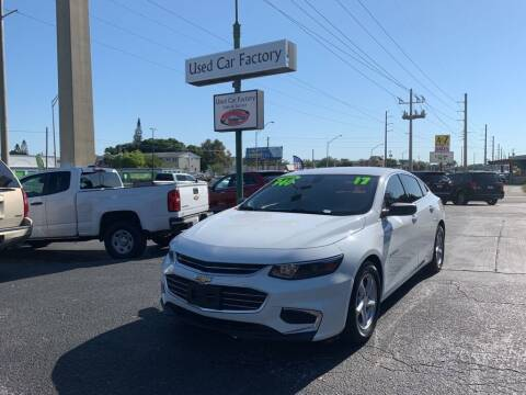 2017 Chevrolet Malibu for sale at Used Car Factory Sales & Service in Bradenton FL
