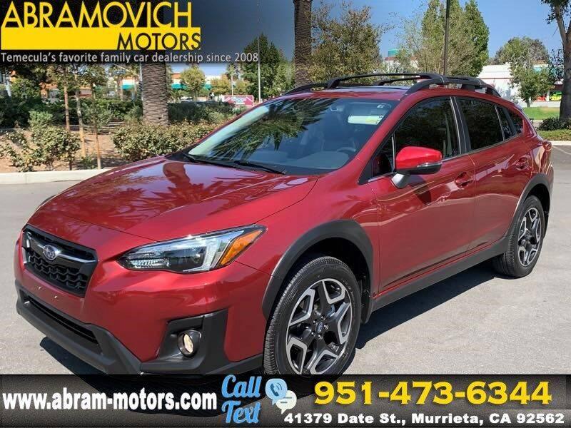 2019 Subaru Crosstrek for sale in Murrieta, CA