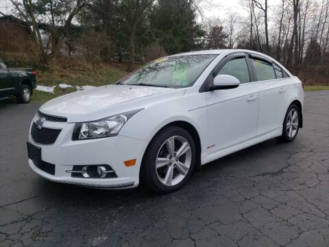2012 Chevrolet Cruze for sale at STRUTHER'S AUTO MALL in Austintown OH