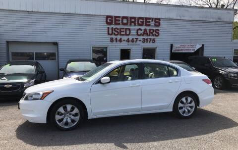 2008 Honda Accord for sale at George's Used Cars Inc in Orbisonia PA