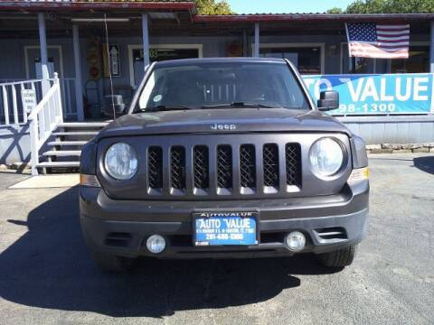 2014 Jeep Patriot for sale at AUTO VALUE FINANCE INC in Stafford TX