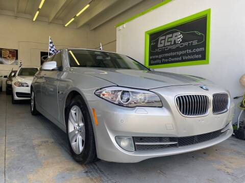 2011 BMW 5 Series for sale at GCR MOTORSPORTS in Hollywood FL