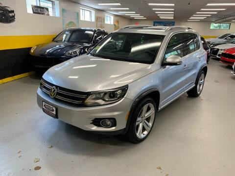 2014 Volkswagen Tiguan for sale at Newton Automotive and Sales in Newton MA