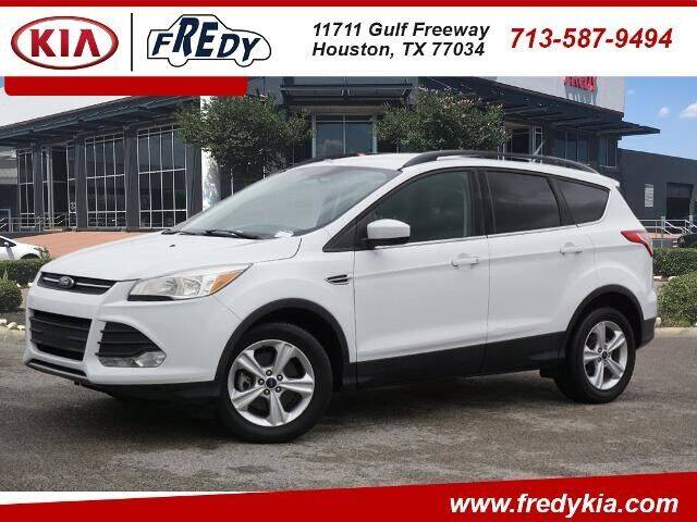 2015 Ford Escape for sale at FREDY KIA USED CARS in Houston TX