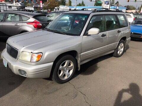 2001 Subaru Forester for sale at Chuck Wise Motors in Portland OR