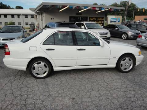 1998 Mercedes-Benz C-Class for sale at HAPPY TRAILS AUTO SALES LLC in Taylors SC