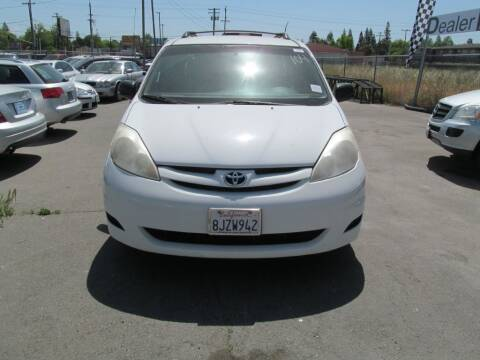 2007 Toyota Sienna for sale at Dealer Finance Auto Center LLC in Sacramento CA