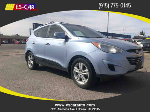 2012 Hyundai Tucson for sale at Escar Auto in El Paso TX