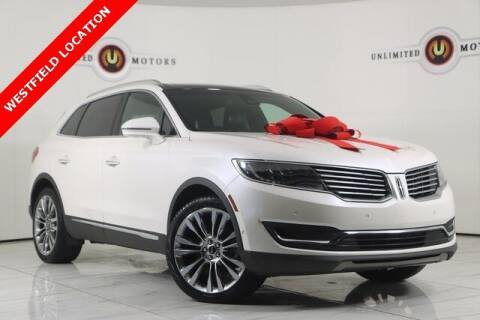 2016 Lincoln MKX for sale at INDY'S UNLIMITED MOTORS - UNLIMITED MOTORS in Westfield IN