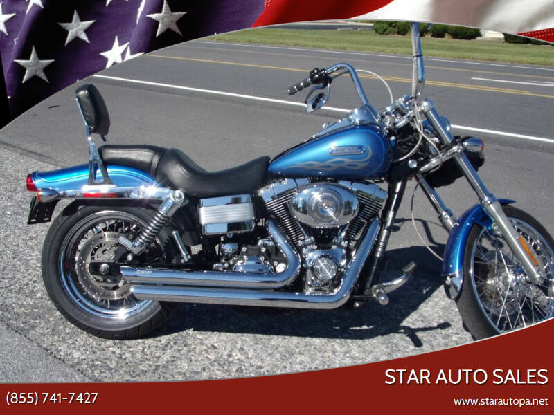 2006 Harley-Davidson DYNA WIDE GLIDE for sale at Star Auto Sales in Fayetteville PA
