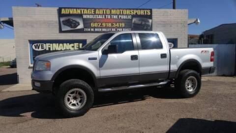 2005 Ford F-150 for sale at Advantage Motorsports Plus in Phoenix AZ
