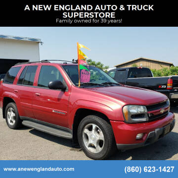 2004 Chevrolet TrailBlazer for sale at A NEW ENGLAND AUTO & TRUCK SUPERSTORE in East Windsor CT