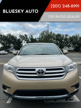 2012 Toyota Highlander for sale at Bluesky Auto in Bound Brook NJ