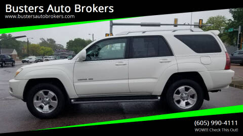 2004 Toyota 4Runner for sale at Busters Auto Brokers in Mitchell SD