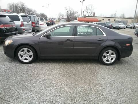 2011 Chevrolet Malibu for sale at MIKE'S CYCLE & AUTO in Connersville IN