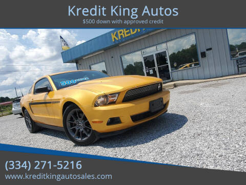 2012 Ford Mustang for sale at Kredit King Autos in Montgomery AL