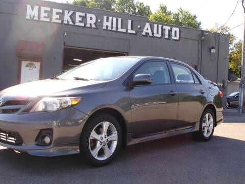 2013 Toyota Corolla for sale at Meeker Hill Auto Sales in Germantown WI