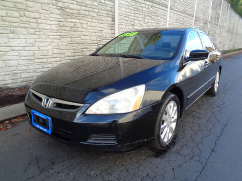 2006 Honda Accord for sale at Matthews Motors LLC in Algona WA