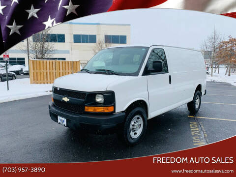 2013 Chevrolet Express Cargo for sale at Freedom Auto Sales in Chantilly VA