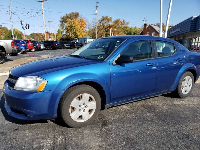 2010 Dodge Avenger for sale at COLONIAL AUTO SALES in North Lima OH
