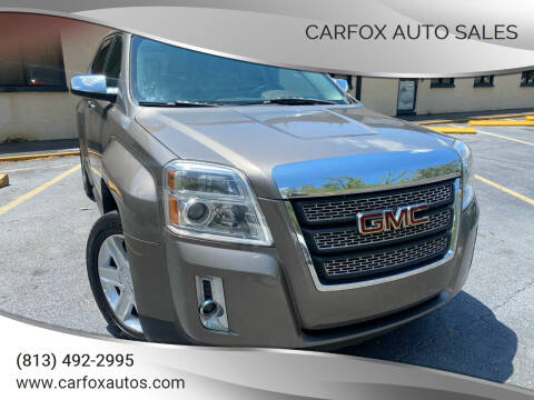 2011 GMC Terrain for sale at Carfox Auto Sales in Tampa FL
