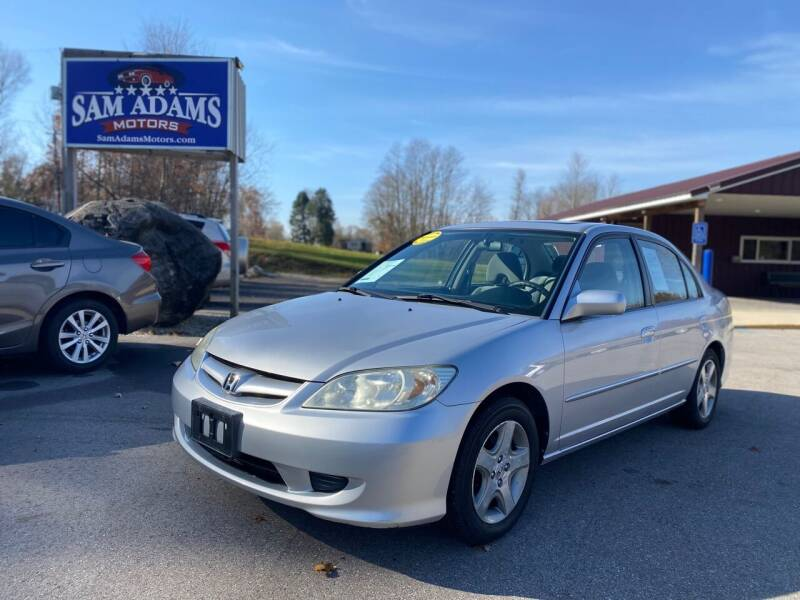 2005 Honda Civic for sale at Sam Adams Motors in Cedar Springs MI