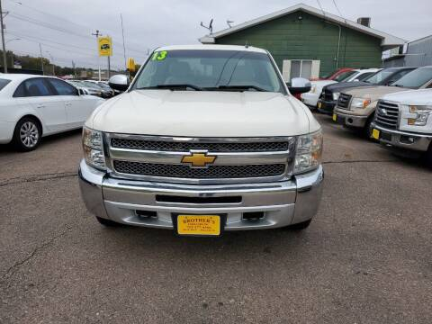 2013 Chevrolet Silverado 1500 for sale at Brothers Used Cars Inc in Sioux City IA