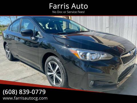 2019 Subaru Impreza for sale at Farris Auto - Main Street in Stoughton WI