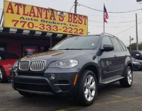 2013 BMW X5 for sale at Atlanta's Best Auto Brokers in Marietta GA