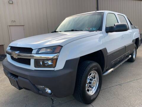 2003 Chevrolet Avalanche for sale at Prime Auto Sales in Uniontown OH