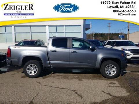 2020 Chevrolet Colorado for sale at Zeigler Ford of Plainwell- Jeff Bishop in Plainwell MI