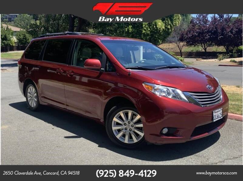 2011 Toyota Sienna for sale in Concord, CA