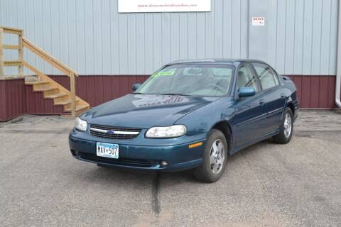 2003 Chevrolet Malibu for sale at Dave's Auto Sales in Winthrop MN