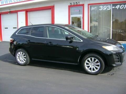 2010 Mazda CX-7 for sale at Cedar Auto Sales in Lansing MI
