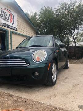 2008 MINI Cooper for sale at S & J Auto Group in San Antonio TX