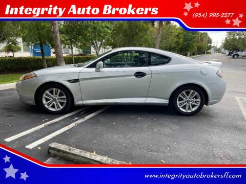 2008 Hyundai Tiburon for sale at Integrity Auto Brokers in Pompano Beach FL