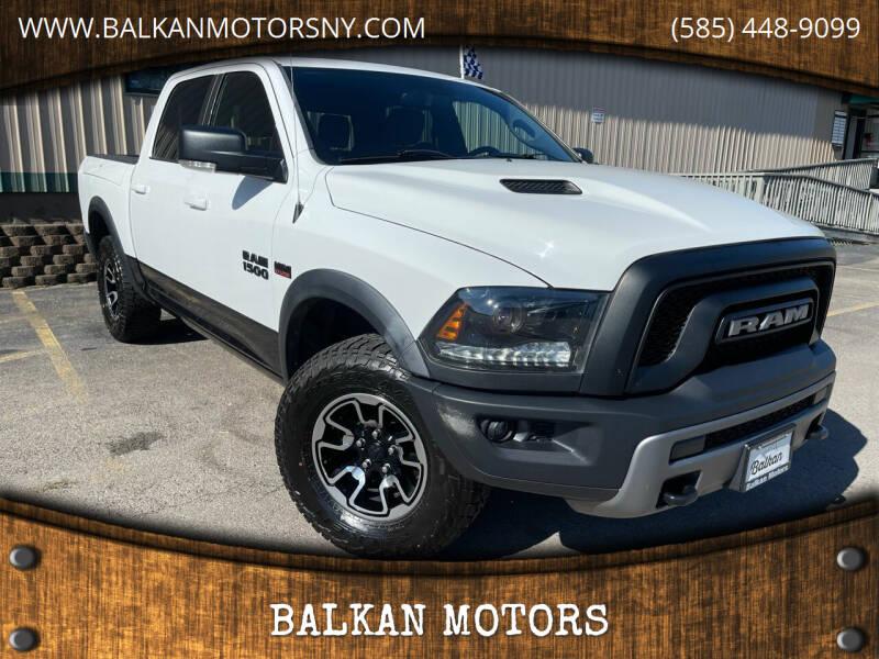 2015 RAM Ram Pickup 1500 for sale at BALKAN MOTORS in East Rochester NY