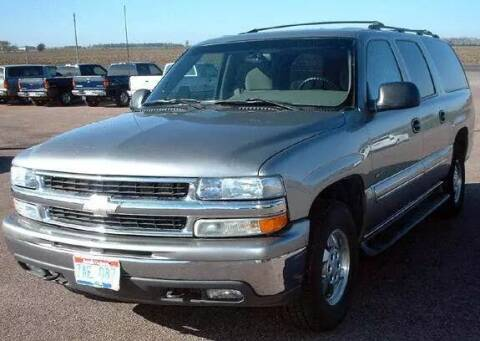 2000 Chevrolet Suburban for sale at Rapp Motors in Marion SD