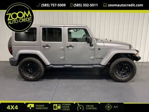 2018 Jeep Wrangler JK Unlimited for sale at ZoomAutoCredit.com in Elba NY
