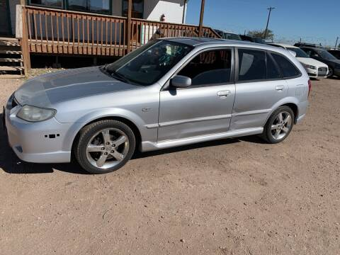 2003 Mazda Protege5 for sale at PYRAMID MOTORS - Fountain Lot in Fountain CO