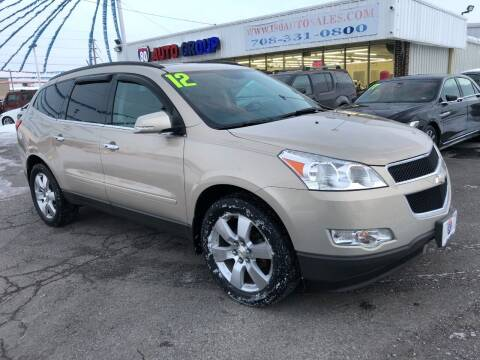 2012 Chevrolet Traverse for sale at I-80 Auto Sales in Hazel Crest IL