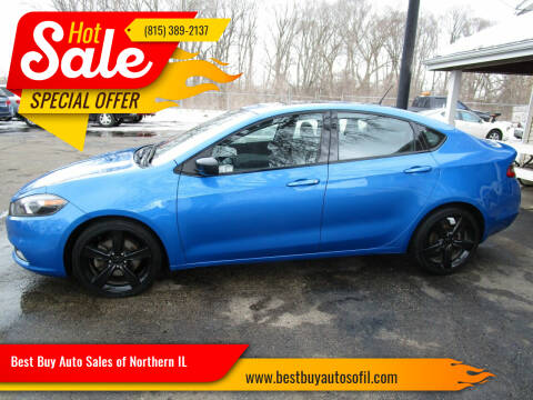 2015 Dodge Dart for sale at Best Buy Auto Sales of Northern IL in South Beloit IL