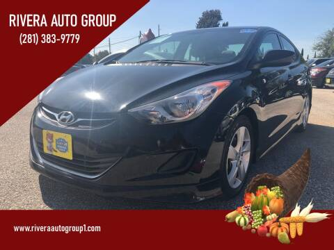 2013 Hyundai Elantra for sale at Rivera Auto Group in Spring TX