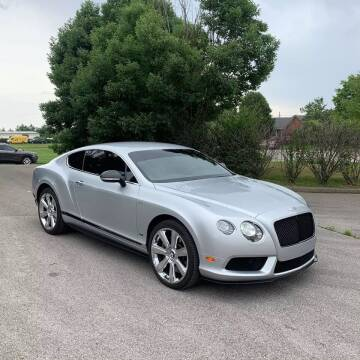 2015 Bentley Continental for sale at GLOBAL MOTOR GROUP in Newark NJ